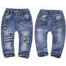 Load image into Gallery viewer, Chumhey 0-6T Baby Jeans Girls Jeans Boys Clothes Boys Pants enfant jean Spring Autumn Stretchy Denim trousers Toddler Clothing