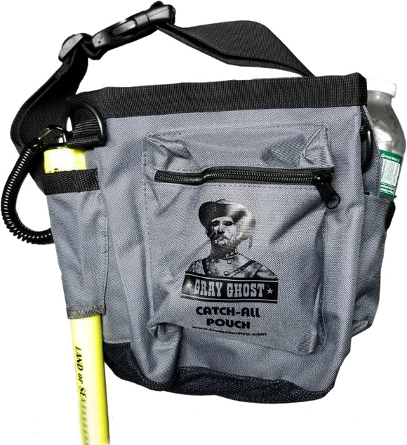 Gray Ghost Catch-All Pouch