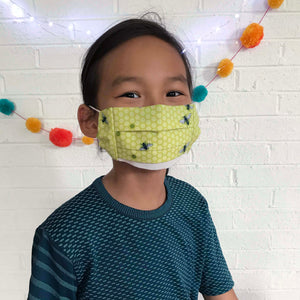 Kids Face Masks - Bees