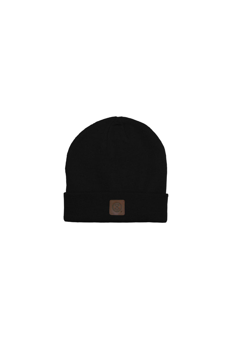 PATCH, beanie black - QHUIT Streetwear