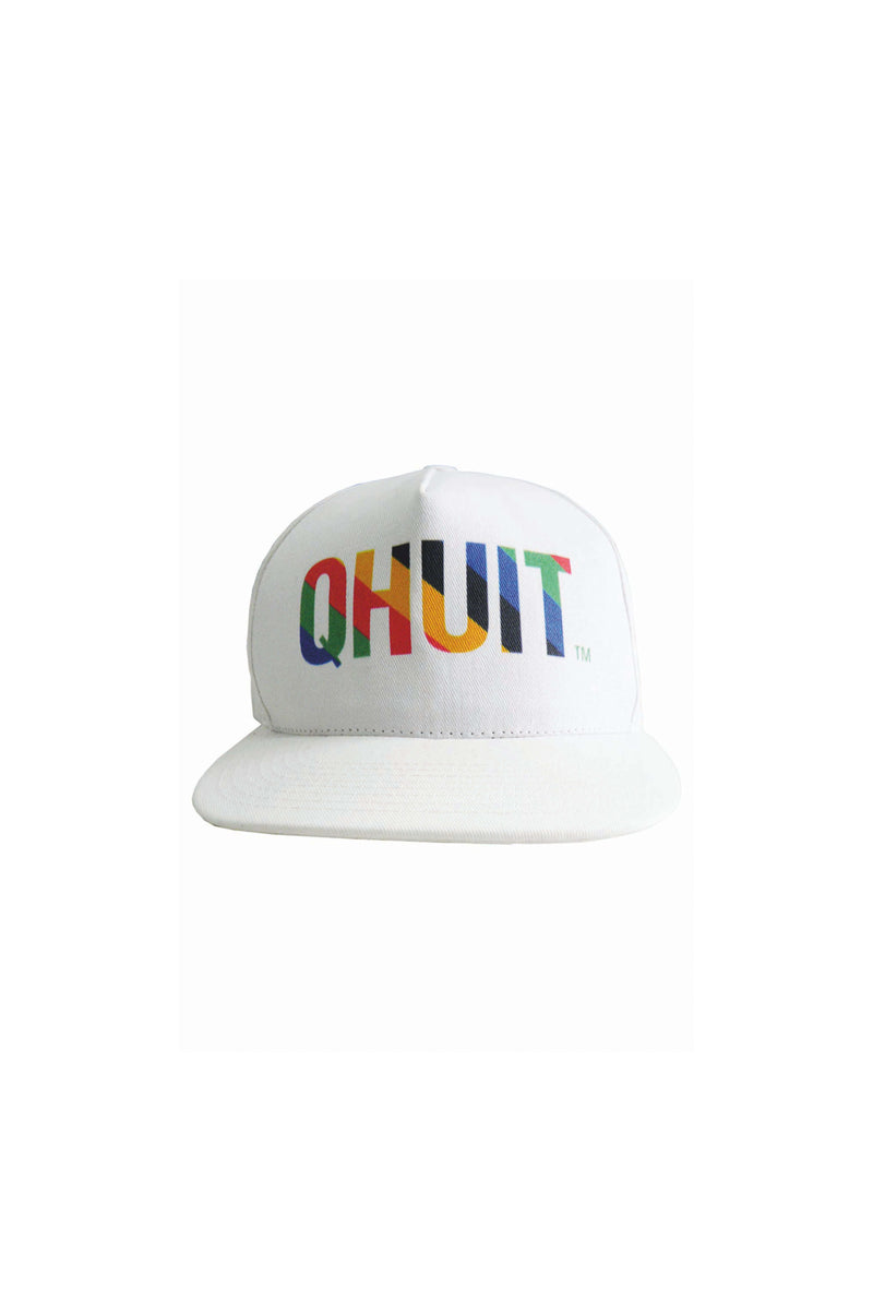 KROSS, snap white - QHUIT Streetwear