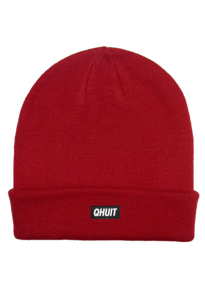 QHUIT, Beanie red