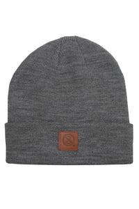 PATCH, beanie heather grey