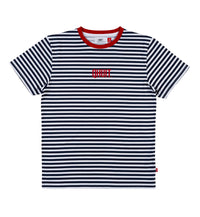 STRIPES, T-shirt blue