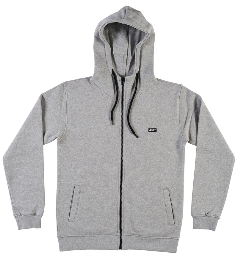 JOGGING, zipper grey - QHUIT Streetwear