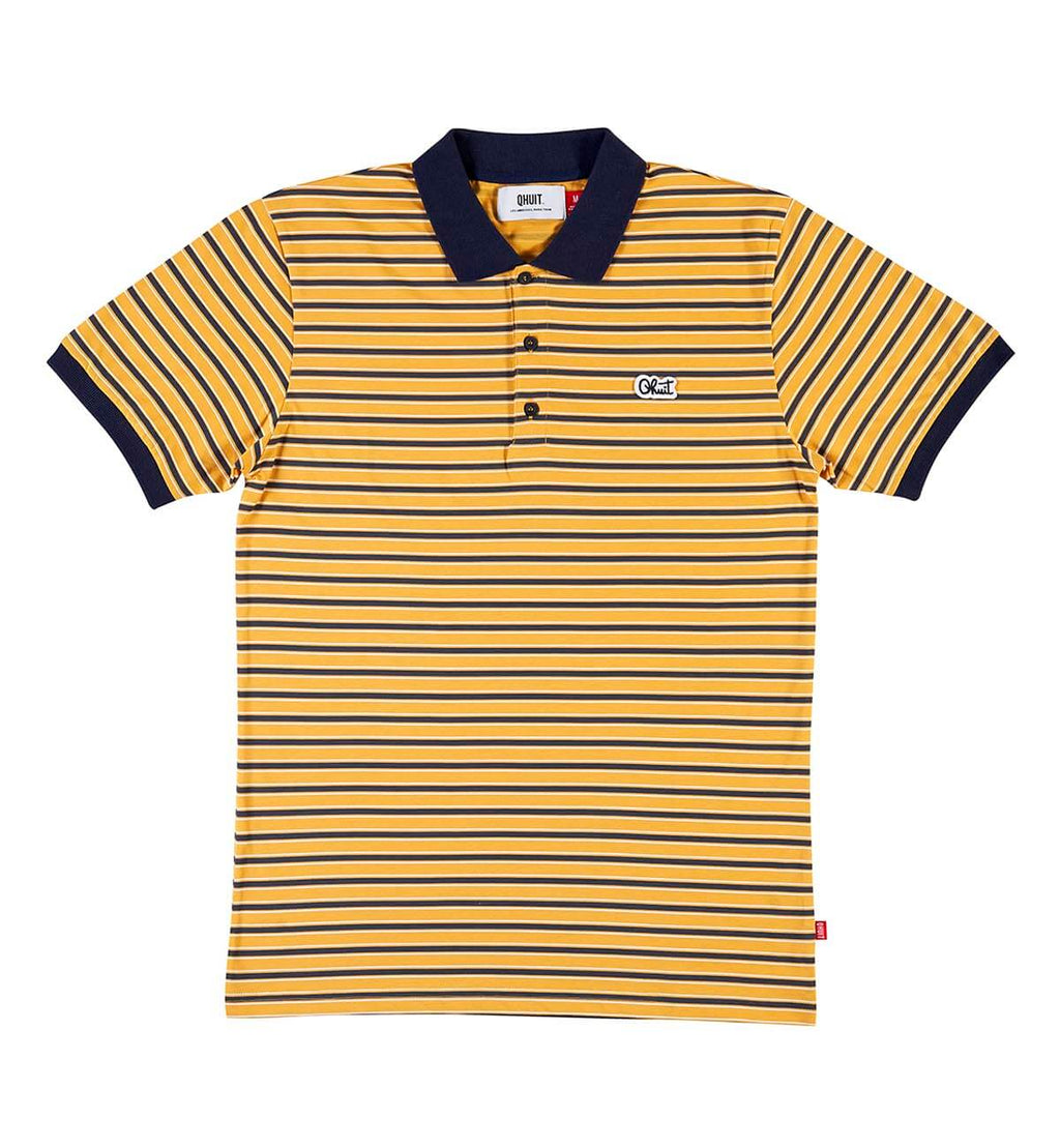 STRIPES, Polo yellow