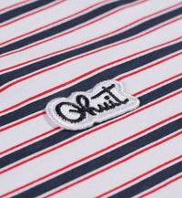 STRIPES, Polo white
