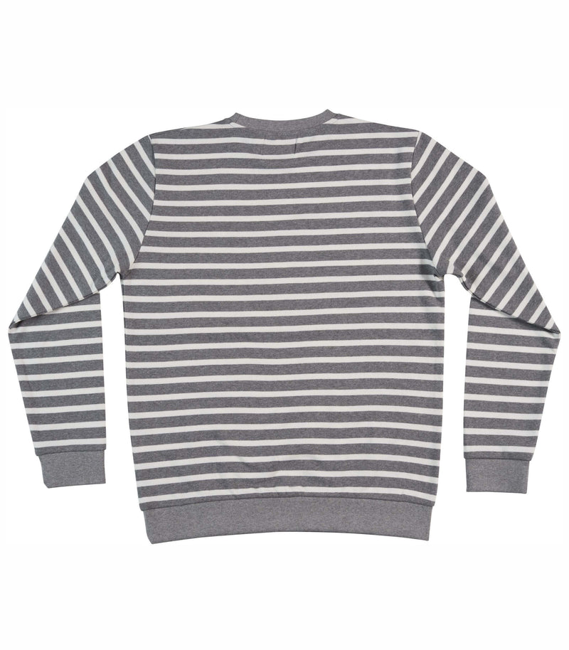 STRIPES, Sweater grey