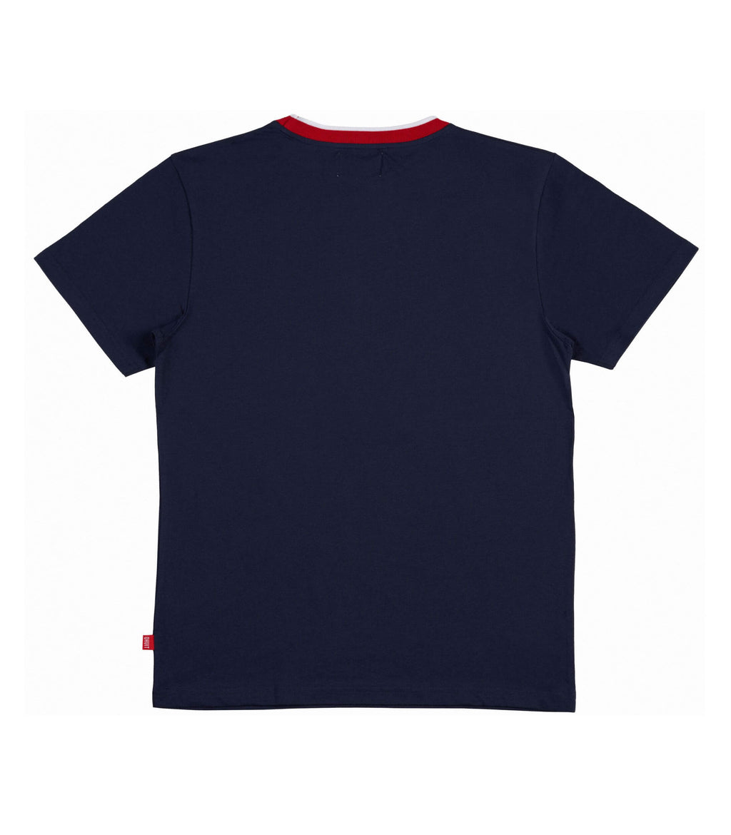 SCHOOL, T-Shirt navy