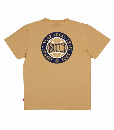 QHUIT CO, T-Shirt beige