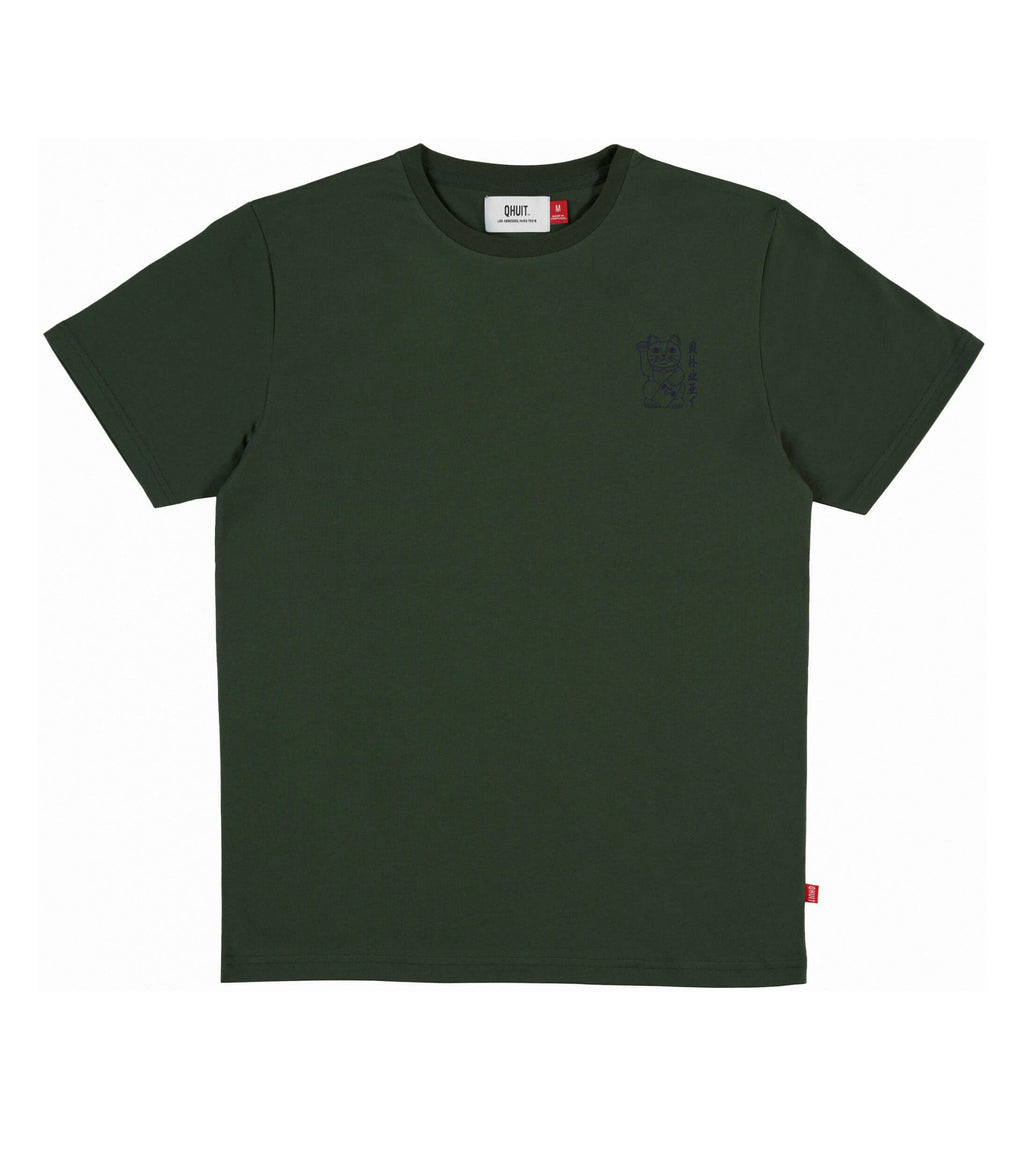 UNLUCKY, T-Shirt green