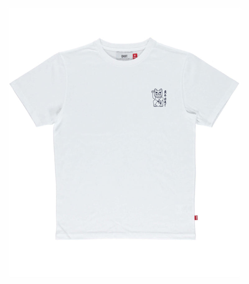 UNLUCKY, T-Shirt white