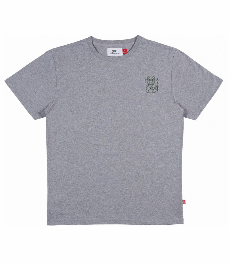 UNLUCKY,T-Shirt grey
