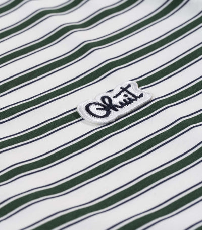 STRIPES, polo green