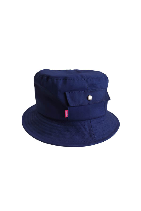 POCKET, Bucket Hat navy