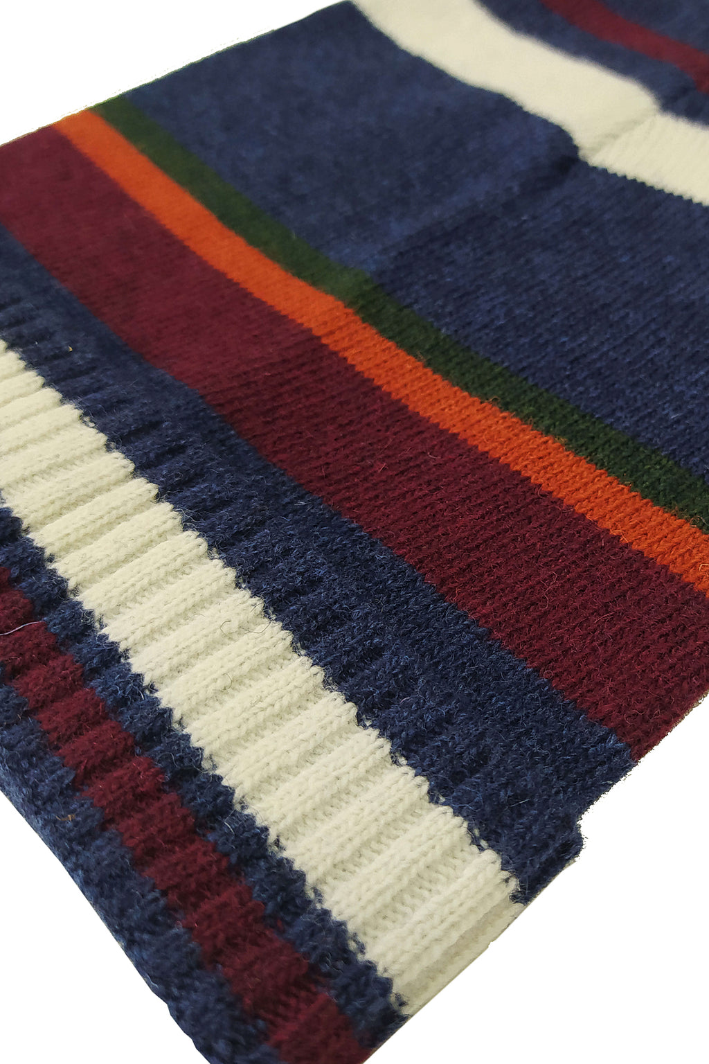 BIG STRIPES, Beanie navy