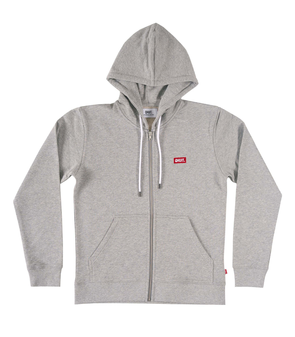 JOGGING, Zipper Logobox grey