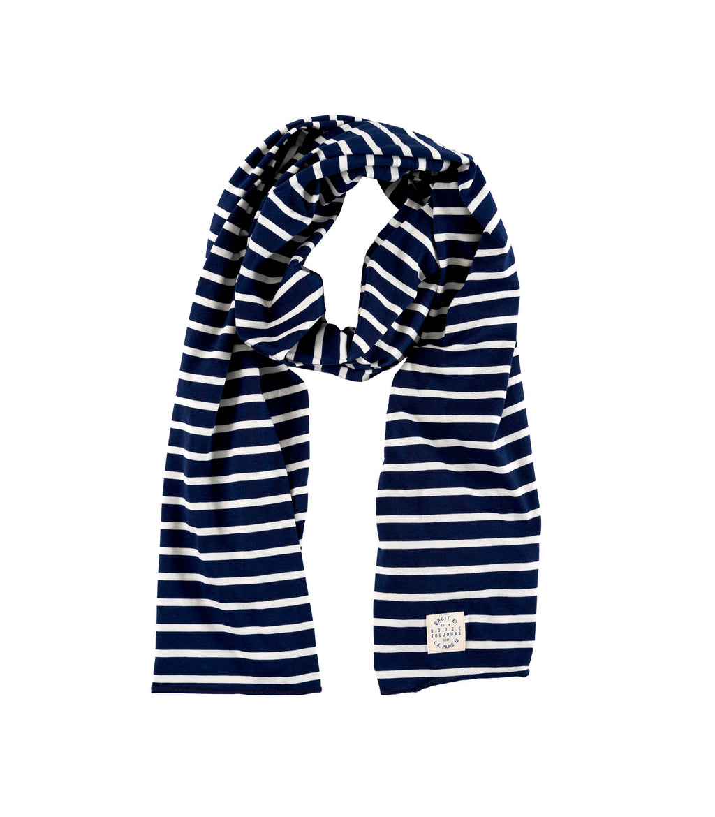 STAMP, scarf navy