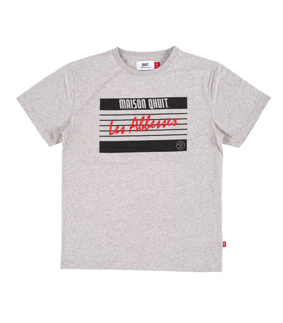 MAISON QHUIT, T-Shirt grey