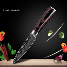 Load image into Gallery viewer, Stainless Steel Japanese Chef Knife Set