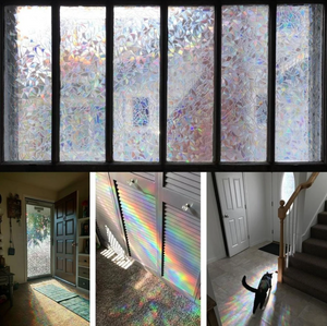 3D Rainbow Window Film - Limited Time Sale- 50% OFF