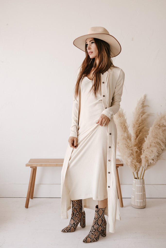 The Ashton Maxi Duster Set