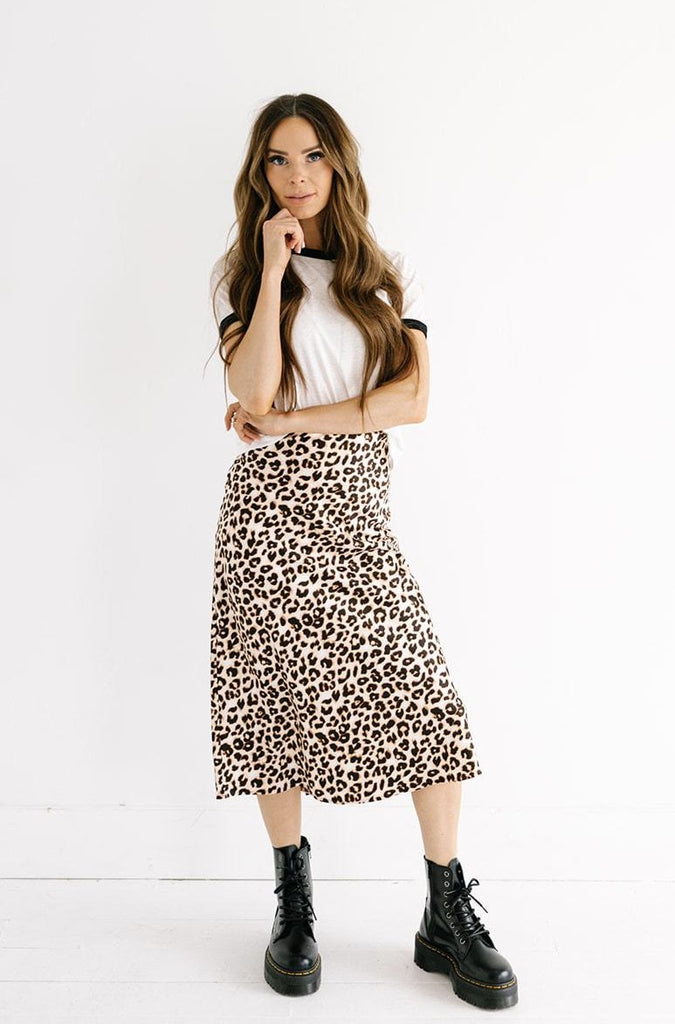 The Leopard Midi Skirt