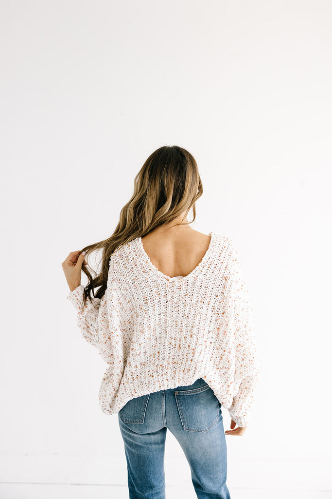 Funfetti Knit Sweater