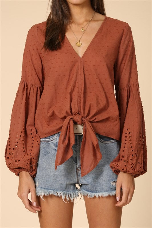 The Belle Blouse