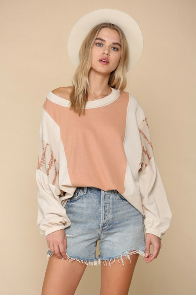 Peaches & Cream Top