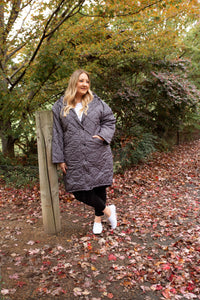 Madison Puffer Jacket in Spot