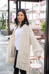 Tanya Cardigan in Cream