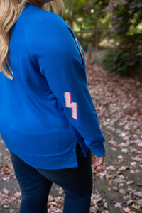 FIERCE Jumper in Electric Blue