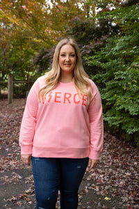 ELM - FIERCE Jumper in Pink