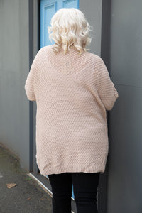 Ruby Cardigan in Beige