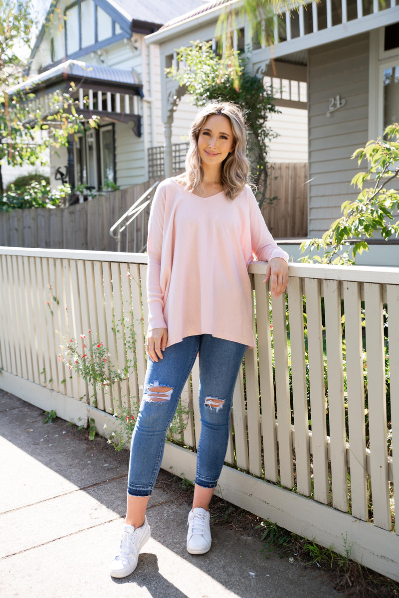 Lexi Knit in Blush