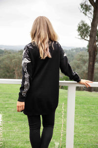 Roxy Cardigan in Black