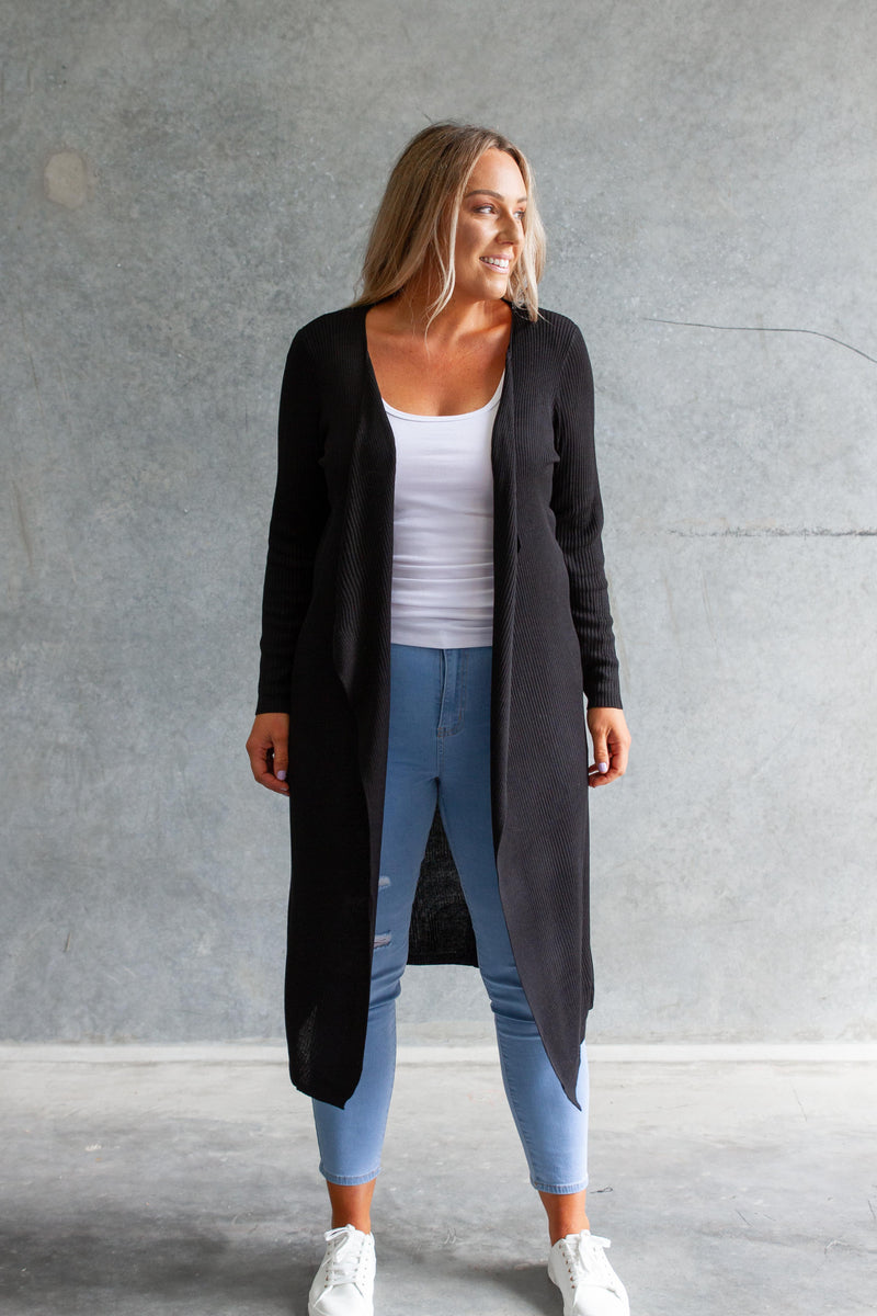 Cecile Cardigan in Black