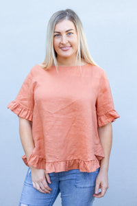 Tilly Top in Rust