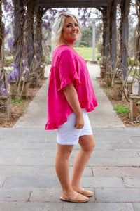Tilly Top in Fuschia
