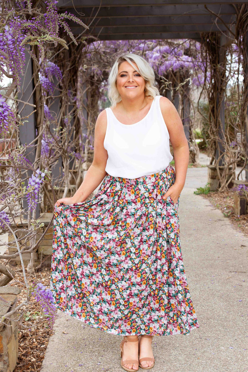 Blooming Skirt in Floral