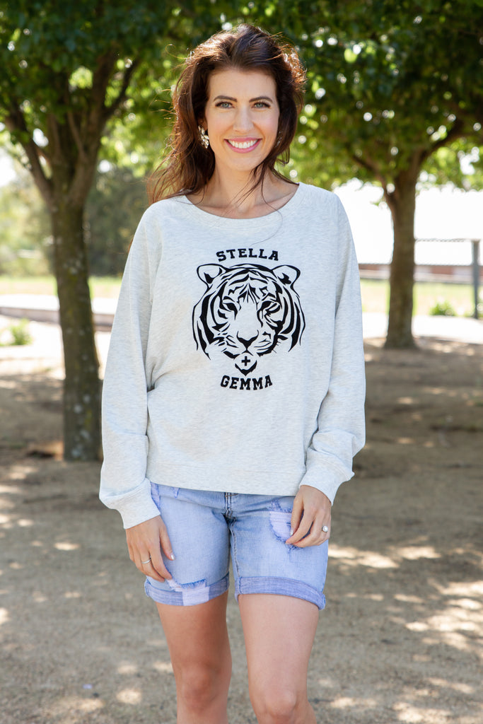 Stella & Gemma Tiger Club Sweater