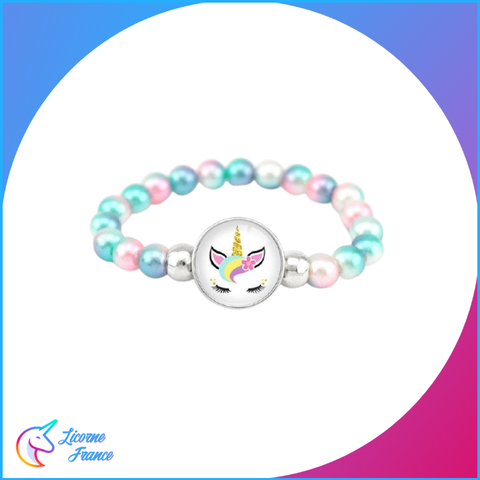 Bracelet Licorne Perle Magic - Licorne France