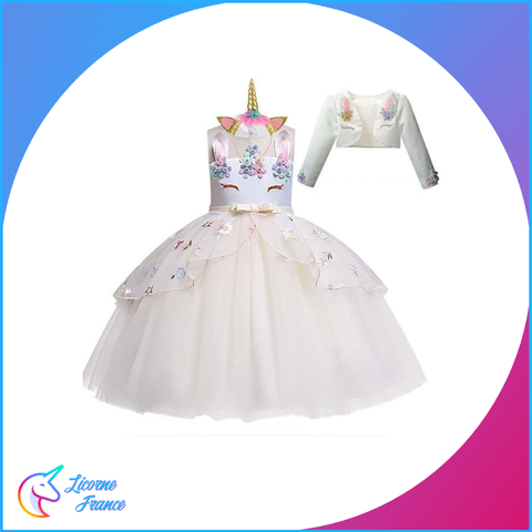 Robe Licorne Rose - Licorne France