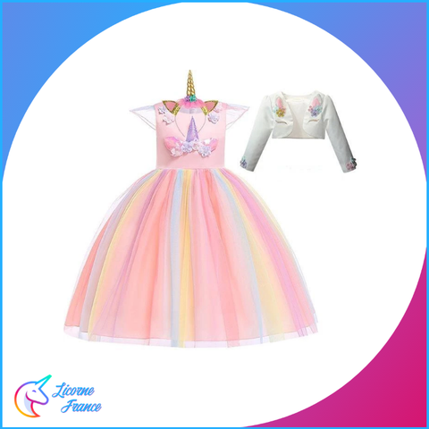 Robe Licorne Saumon - Licorne France
