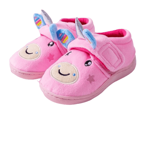 Chaussons Scratch Licorne Rose - Licorne France