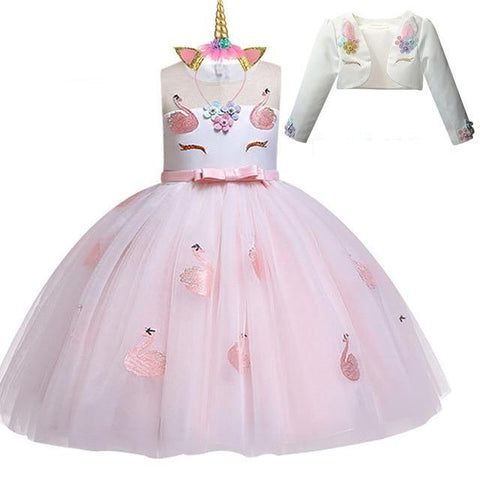 Costume Licorne Cake Rose - Licorne France