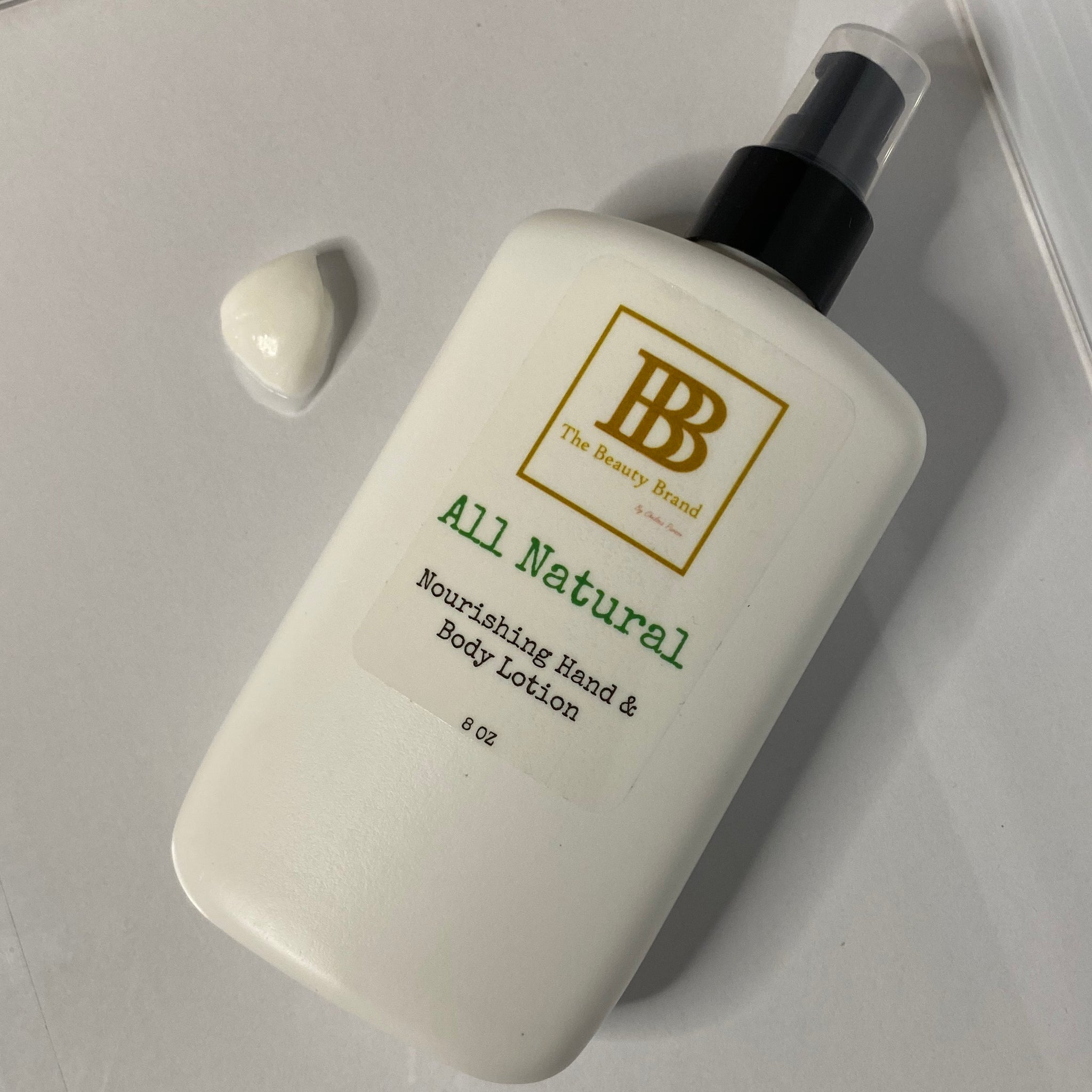 All Natural Nourishing Body Lotion
