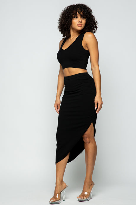 Xochilt Tank & Skirt Two Piece Set