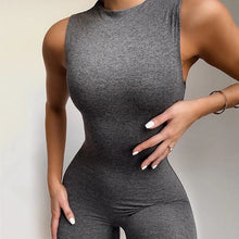 Load image into Gallery viewer, Iyana Sleeveless Long Solid Jumpsuit